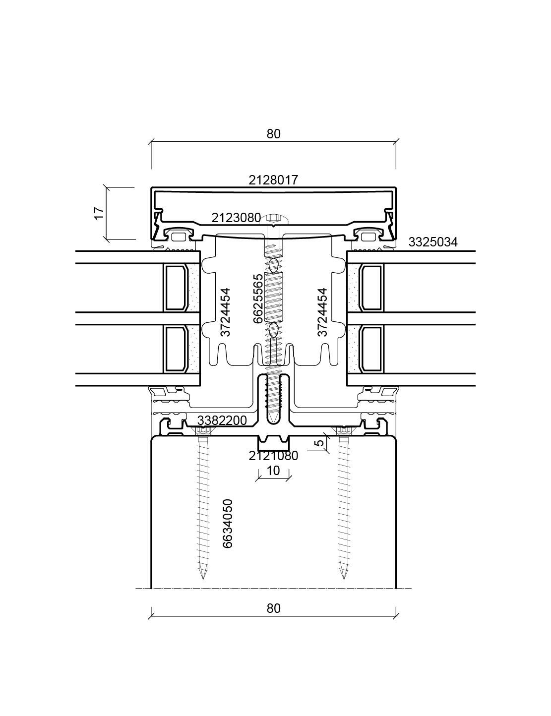 batimet holz aluminium pfosten riegel tm80 se. Black Bedroom Furniture Sets. Home Design Ideas